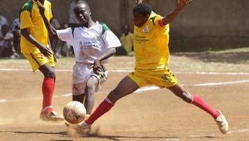Fußball fürs Leben - ein Projektbesuch in Nairobi