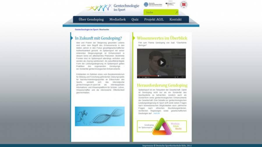 Neues Informationsportal: www.gentechnologie-im-sport.de