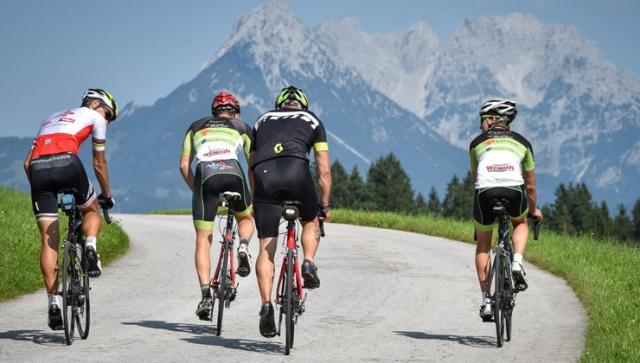 Auf den Spuren der Radprofis im Alpbachtal Seenland