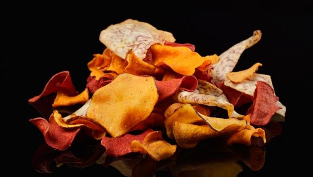 Gemüsechips selbstgemacht – Gesunde Snacks für die EM