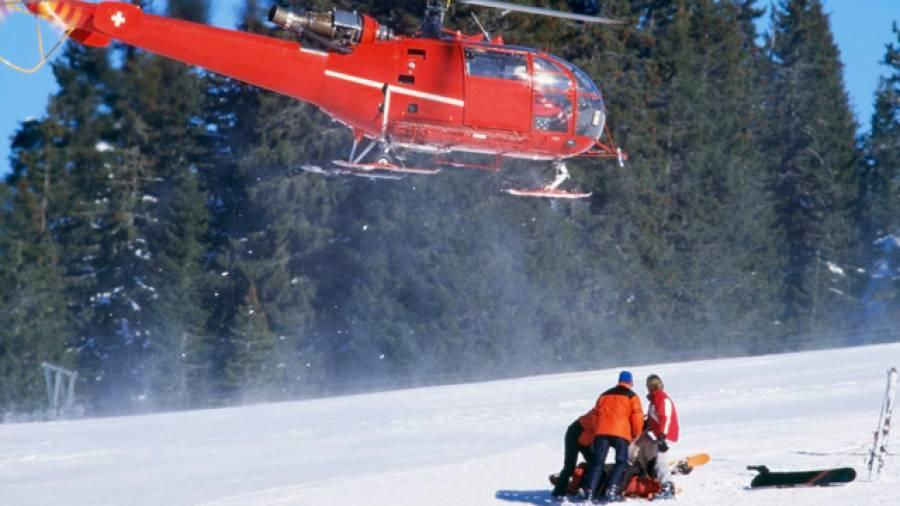 Die häufigsten Skiverletzungen