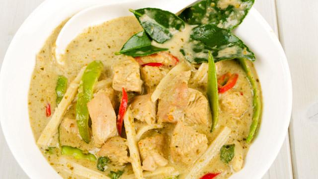 Grünes Thai-Curry -  Minimax-Rezeptideen fürs Mittagessen