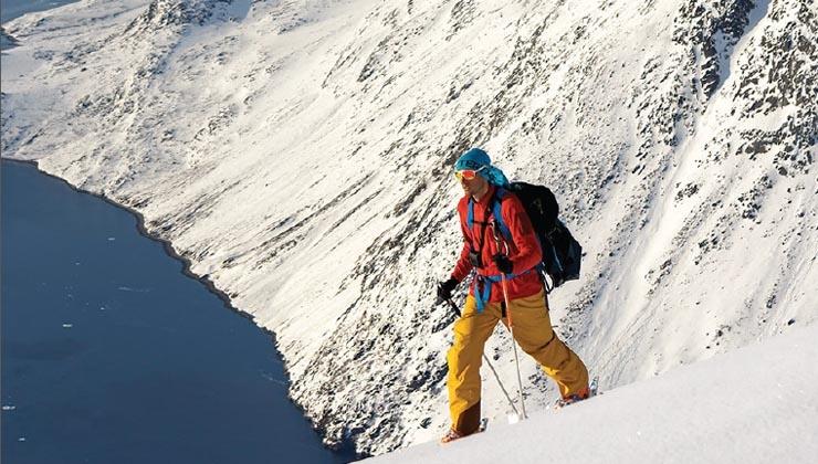 Durchs Herz der Fjorde – Skifahren in Grönland
