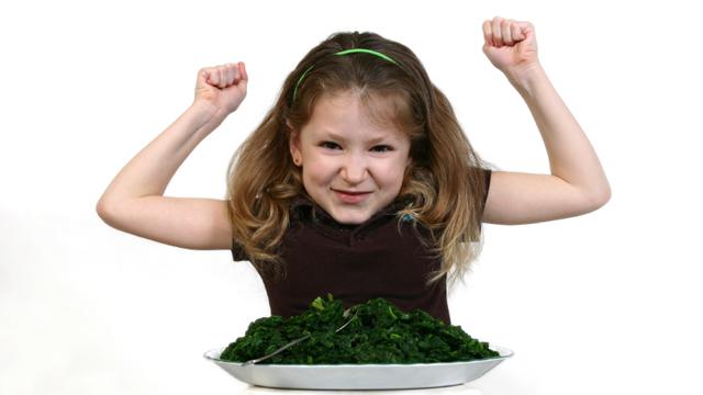 Popeye hat recht – Spinat macht stark