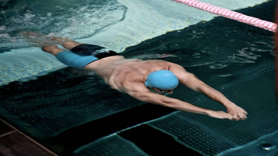 Schwimmen – So trainiert Profi Christian vom Lehn