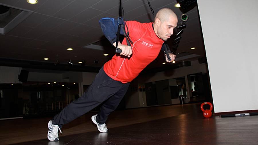 Workout mit Aerosling und Rowstick