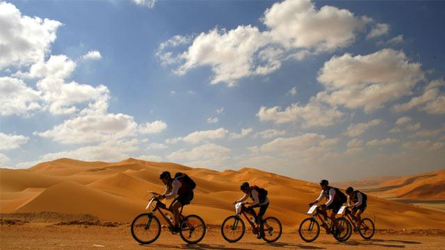 Durch die Wüste - Die Abu Dhabi Adventure Challenge 2009
