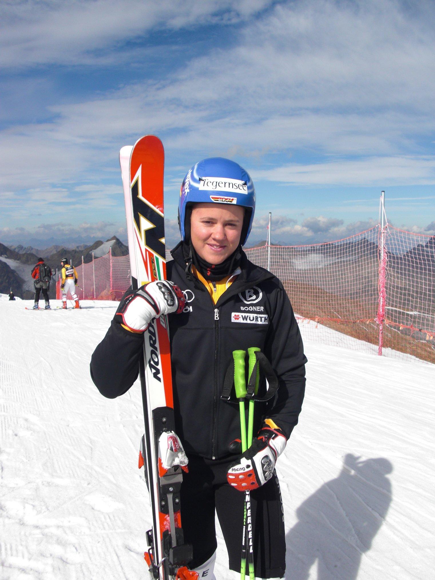 Gold für Viktoria Rebensburg im Riesenslalom