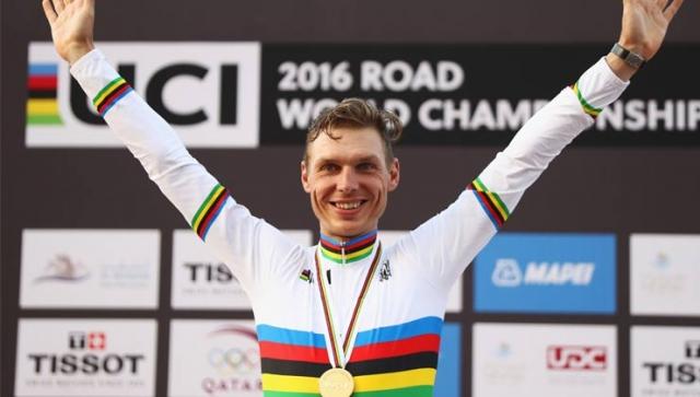 Weltmeister! Tony Martin gewinnt Zeitfahren