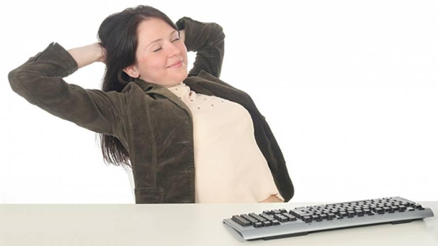 Richtig Sitzen gegen Rückenschmerzen