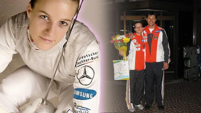 """Carolin Golubytskyi: """"Sport ist Sport und privat ist privat."""""""