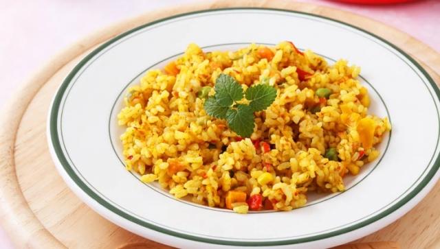 Rezept: Indische Reispfanne
