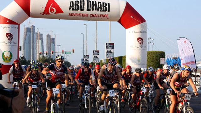 Abu Dhabi Adventure Challange - Der Start ist erfolgt