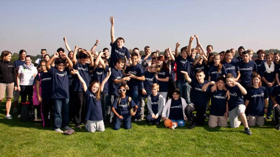 Voller Erfolg für das erste Laureus Sport Camp