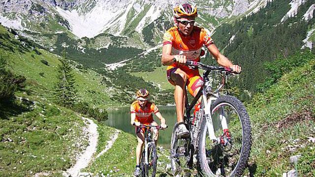 Alpencross mit den netzathleten - Mit dem Mountainbike durch die Alpen