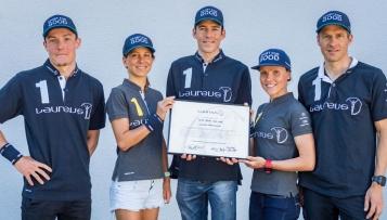 Triathlon-Team zu Laureus-Botschaftern ernannt