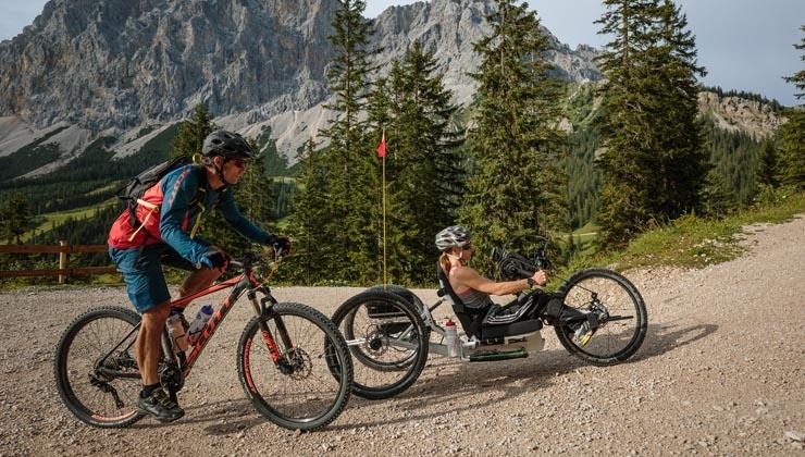 Alpenüberquerung mit Paralympic-Star