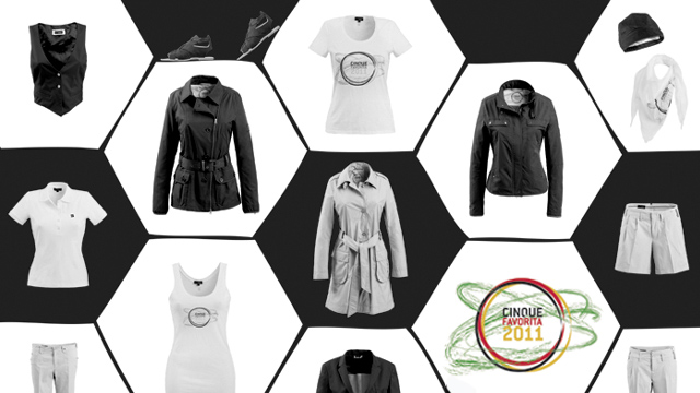 DFB Damen in neuen Hüllen - Cinque Favorita 2011