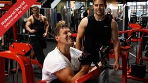 Training mit Hollywood-Star Ralf Möller