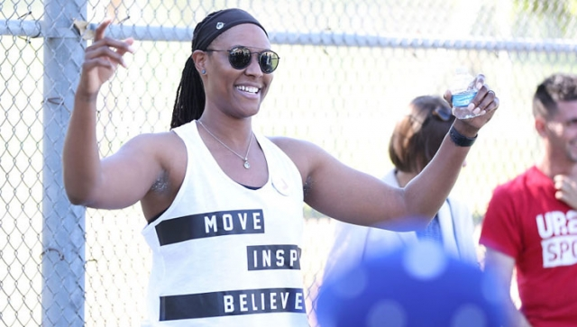 Chamique Holdsclaw besucht Friedensprojekt in Israel