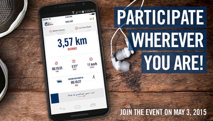 Wings for Life World Run – Live dabei per App