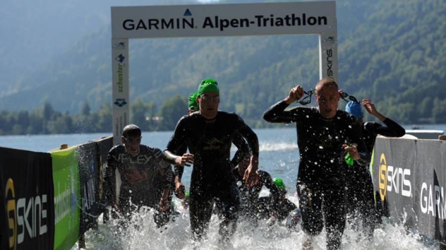 """Road to Kona """"Ironman Weltmeisterschaft"""" - Letzte Ausfahrt GARMIN Alpentriathlon"""