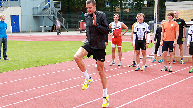 Lauf-ABC mit Jan Frodeno