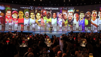 World Sports Awards für Biles, Messi, Hamilton und Nowitzki