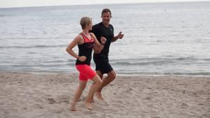 Fitnessplus - Laufen im Sand