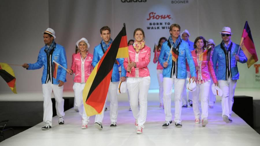 Einkleidung der Deutschen Olympiamannschaft