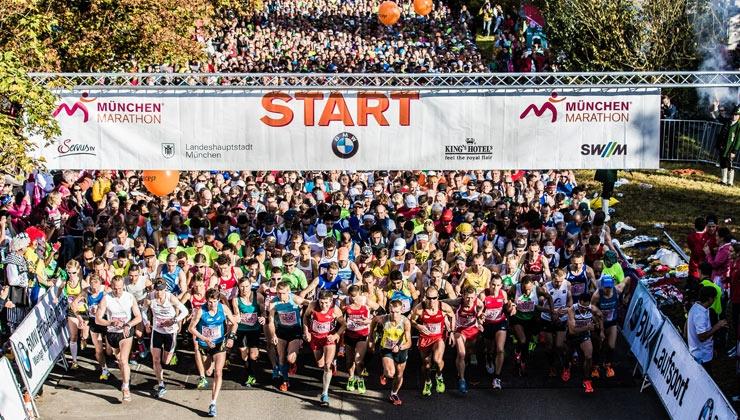 Laufkolumne zum München Marathon: Solang der alte Peter …