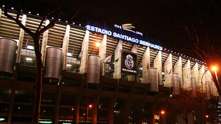 Wo Weltstars kicken – netzathleten im Estadio Santiago Bernabeu