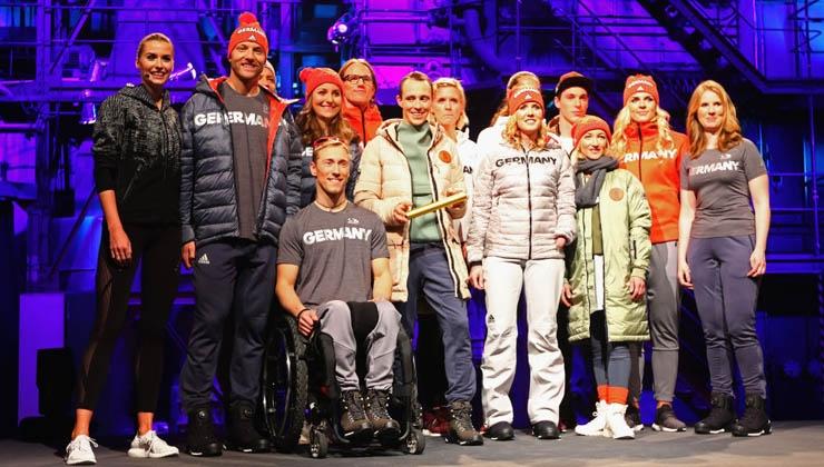 Einkleidung – Team Deutschland macht sich fein
