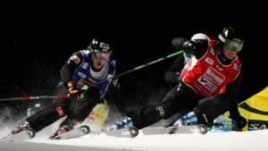 """Deutsche Ski Crosser """"on fire"""""""