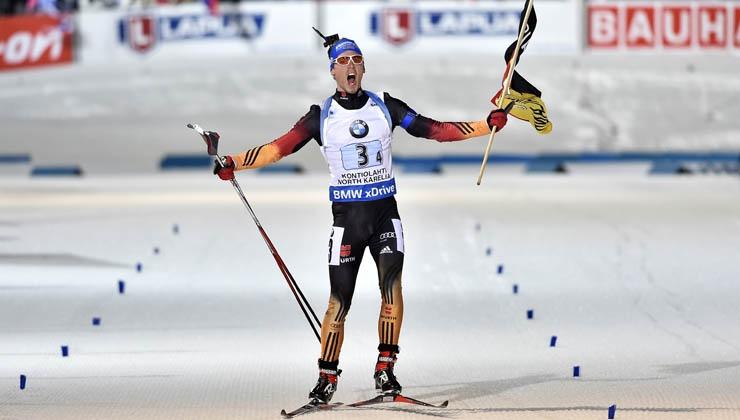 Biathlon-Weltcup: Schempp siegt im Sprint