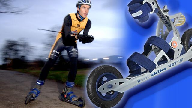 Ausdauer mit Skike – Halb Skate, halb Bike