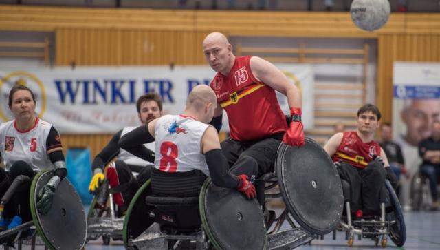 Heim-EM für Rollstuhlrugby-Team steht an