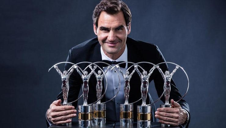 Roger Federer stellt Laureus-Rekord auf