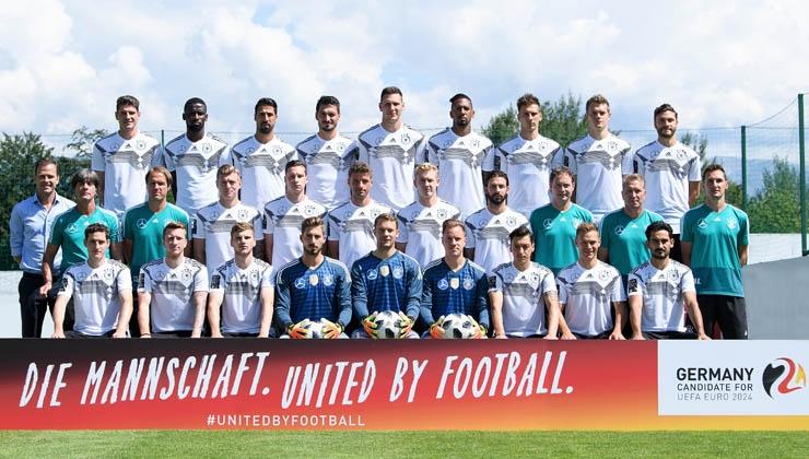"""Die Mannschaft ist """"United by football"""""""