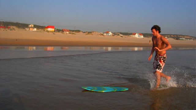 Lass laufen – Skimming in Portugal