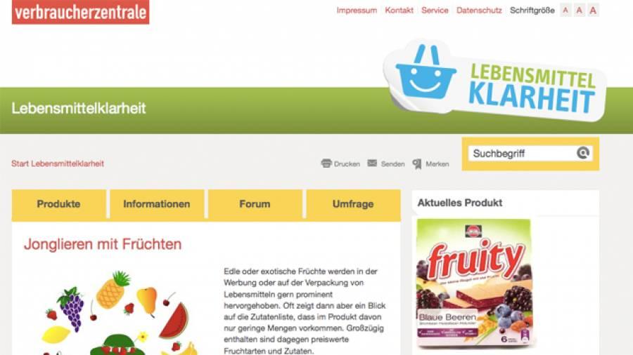 Täuschung oder Marketing – Lebensmittelklarheit.de deckt auf