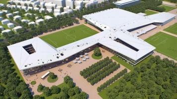 DFB stellt Entwurf für geplante Akademie vor