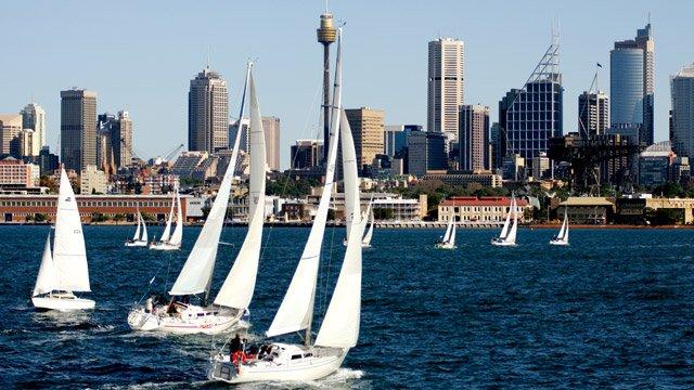 Segeln: Twilight Race in Sydney
