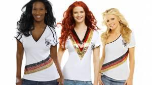Football loves Couture – Verführerische WM-Trikots für weibliche Fans