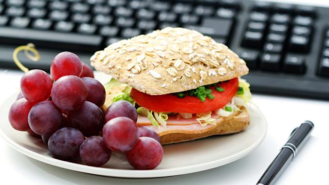 Die richtige Ernährung im Büro