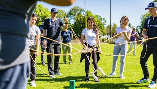 TEAM SPORT FOR GOOD übernimmt Schirmherrschaft für Schulprojekt