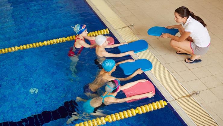 Schwimmunterricht für Kinder aus Flüchtlingsfamilien