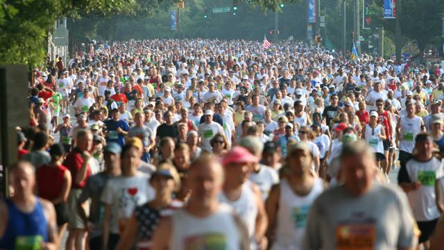Laufen: Warum ist ein Marathon genau 42,195 km lang?