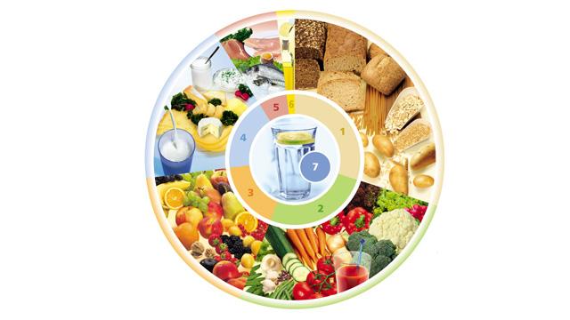 Rundum gesund mit dem Ernährungskreis der DGE
