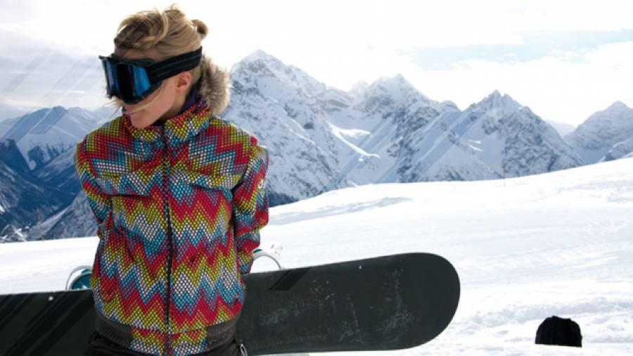 Bunte Schneeballschlacht – Die Wintersport-Mode 2009